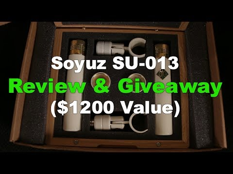 Soyuz SU-013 Microphone Review & Giveaway ($1200 Value) - Produce Like A Pro