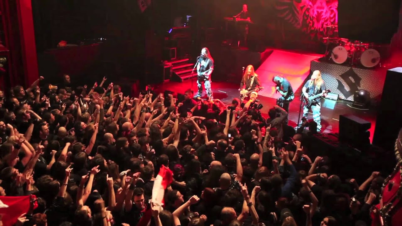 SABATON — Live at KOKO in Camden, London (OFFICIAL LIVE)