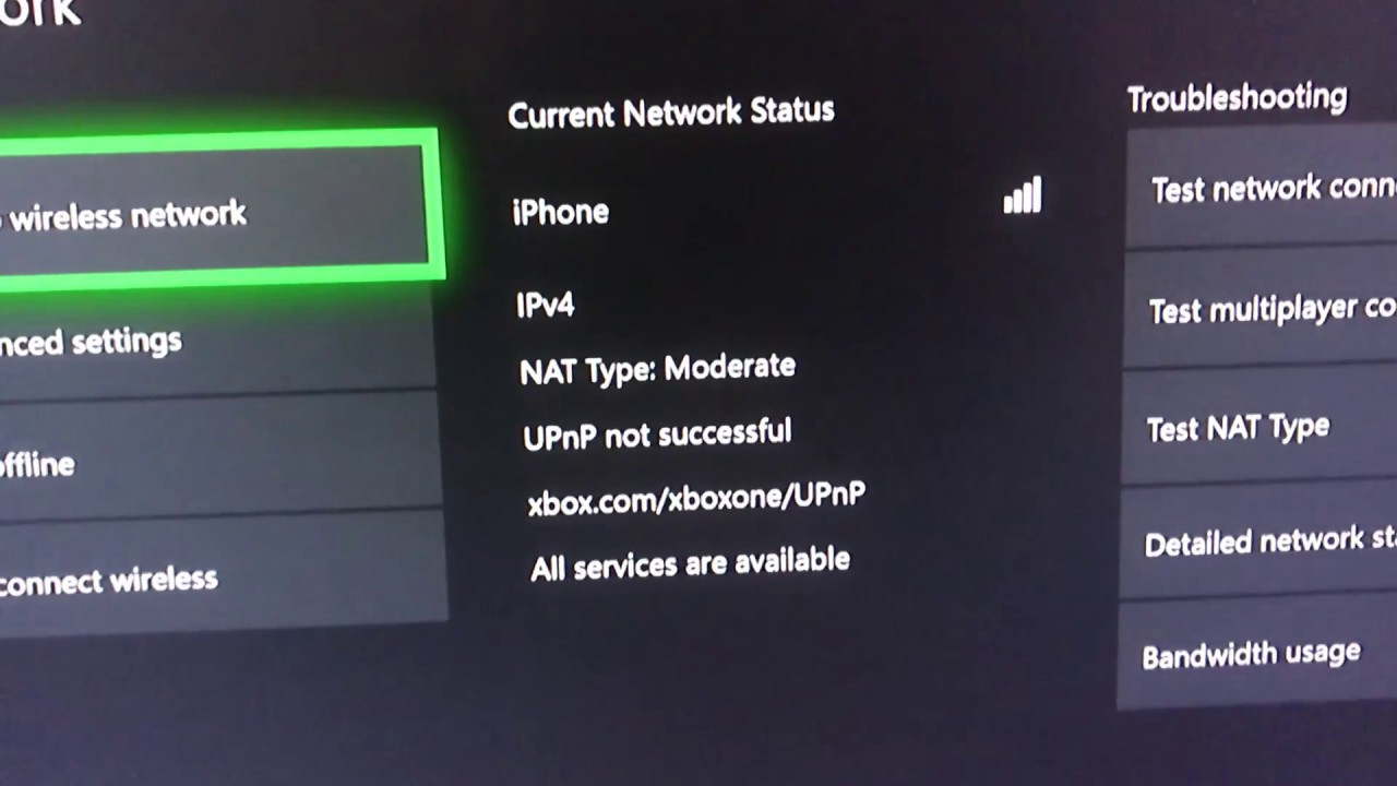 How to fix NAT/upnp on Xbox one
