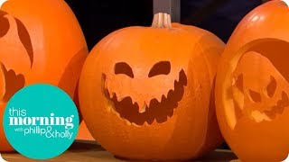 How to Carve a Spooktacular Pumpkin | This Morning