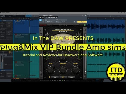 Plug And Mix Vip Bundle Amp Sims In The DAW