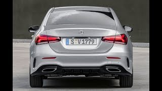 All New Mercedes Benz A Class Sedan 2018 Design Features