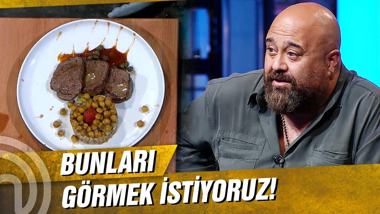 Mehmet Şef'i Hayran Bırakan Tabak!     MasterChef Türkiye 8. Bölüm