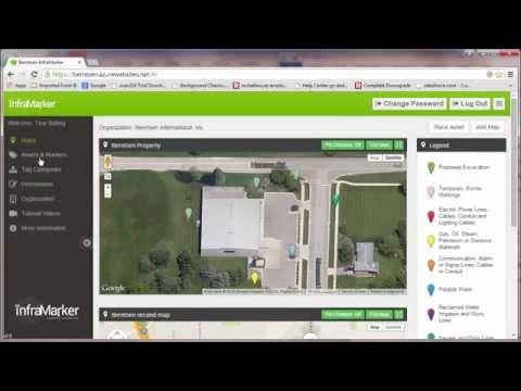 Organize Assets Using the InfraMarker Web Application