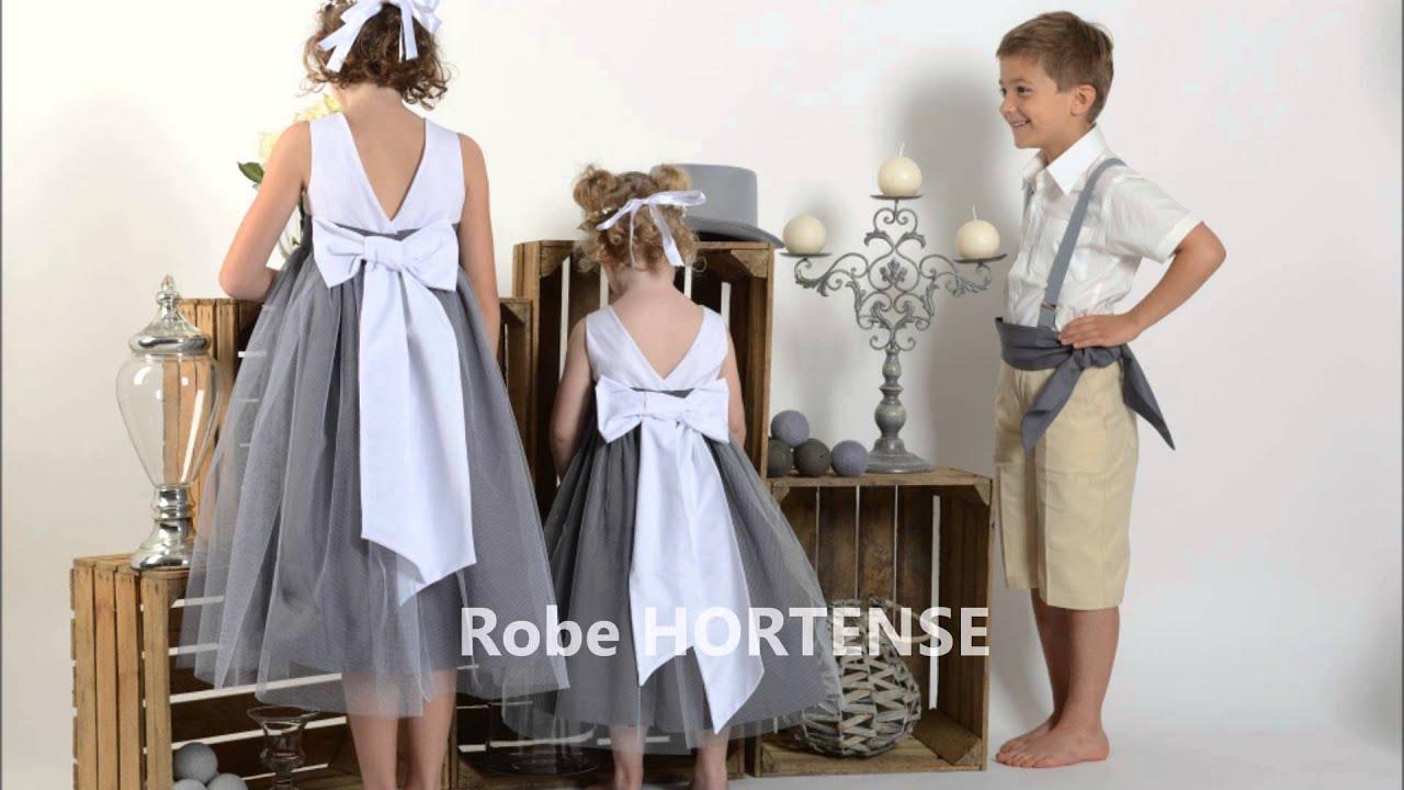 robe de cortege enfant modele hortense cortege d anges With robe de cortege