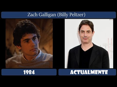 Gremlins / Actores Antes Y Después 2018 (ASÍ LUCEN AHORA)