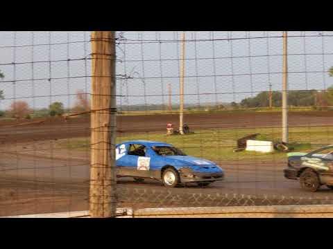 Lincoln County Raceway 8/25/18 Sport compact heat