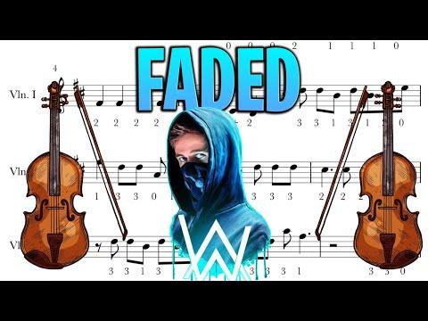FADED-ALAN WALKER-VIOLÍN-GUITAR PARTITURA