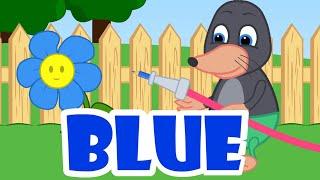 Benny Mole and Friends - Rainbow Flowers Cartoon for Kids
