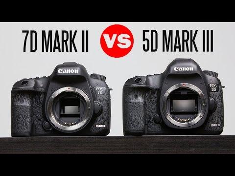 Canon 7D Mark ii Vs Canon 5D Mark iii Full In-Depth Comparison