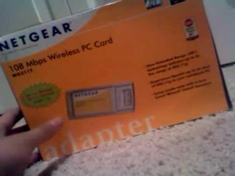 NETGEAR WG511T WLAN Windows Vista 64-BIT