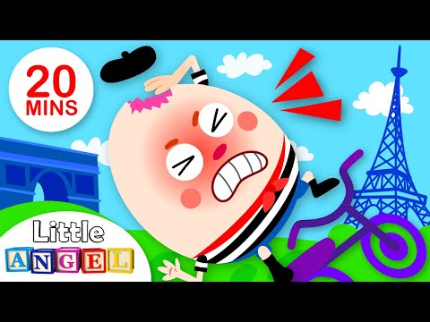 Humpty Dumpty Travels the World, Paw Patrol  Saves the Day | Kids Songs by Little Angel