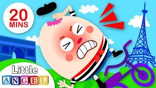 Humpty Dumpty Travels the World | Johny Johny Yes Papa | Kids Songs & Nursery Rhymes by Little Angel