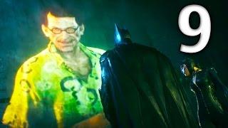 Arkham Knight Official Walkthrough - Part 9 - Riddler