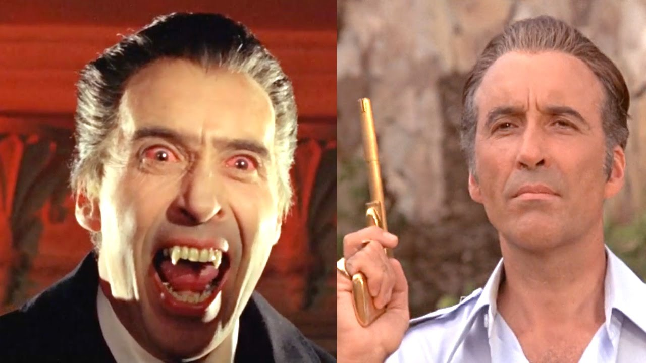 Top 10 Christopher Lee Performances - YouTube