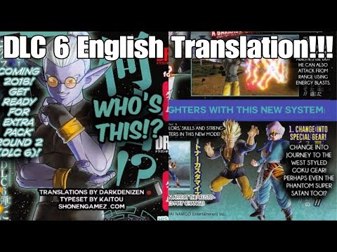 Xenoverse 2 DLC 6/Fuu English Translated Scan! New Game Mode Coming With New Partner Feature?