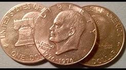 1776-1976 (Bicentennial) Eisenhower Dollars