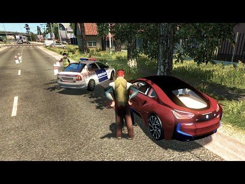 ETS2 2.0 #78 | BMW I8 Una Bestia De La Carretera | JMGAMER