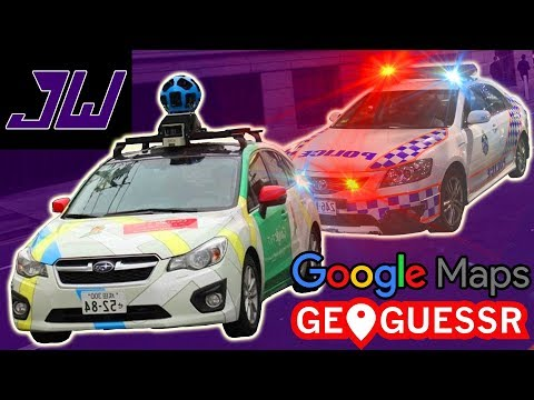 GOOGLE PULLED OVER BY THE POLICE! | GeoGuessr | Episode 3