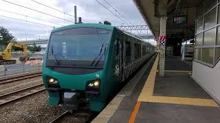 リゾートしらかみ4号 HB-E300系 青森発車