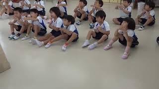 英語教室(5歳児クラス)2020年8/6 ②