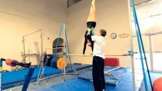 How to Do a Cast Handstand Drill | Gymnastics