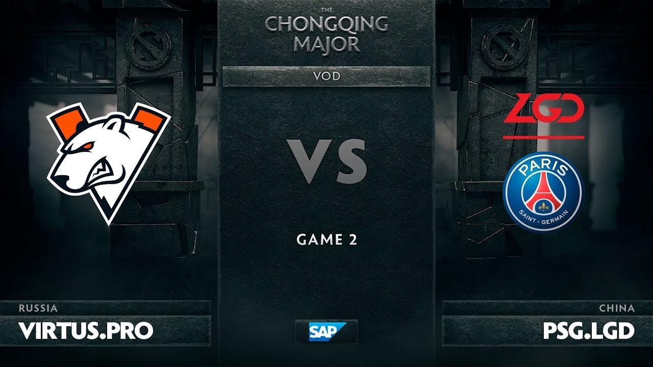 [EN] Virtus.pro vs PSG.LGD, Game 2, The Chongqing Major UB Round 2
