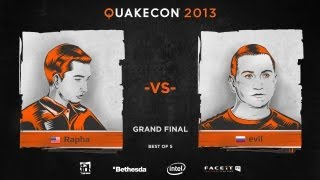 QuakeCon 2013: Grand Final - rapha vs.  evil