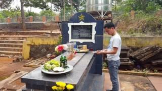 Ngày vào thăm nghĩa trang liệt sĩ Lộc Linh