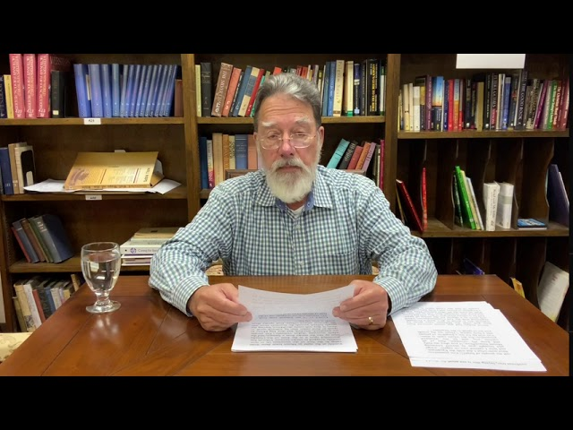 Bible Study with Bill Stahl   Week 21 The 10 Commandments
