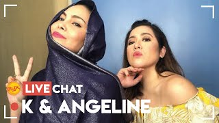 Love & Life Lessons From ANGELINE QUINTO & K BROSAS | MYX Live Chat