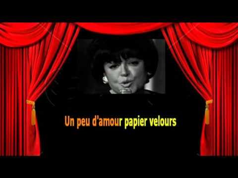 Karaoké Régine  -  Les p'tits papiers