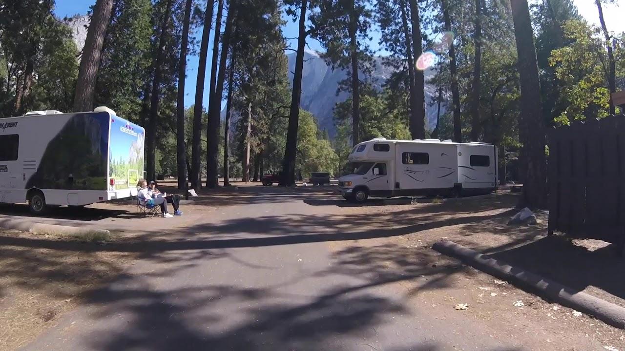Drive Thru Video Of Lower Pines Campground Yosemite