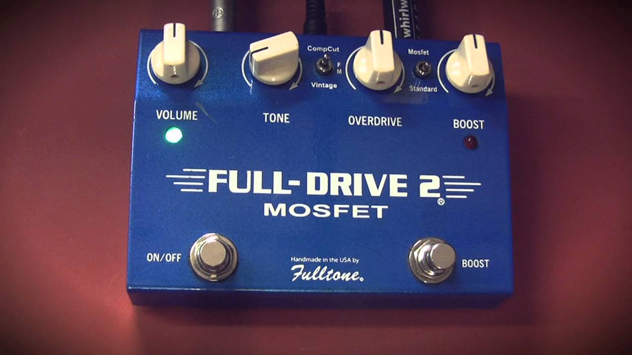 fulltone fulldrive 2 mosfet by richard norton guitar youtube. Black Bedroom Furniture Sets. Home Design Ideas