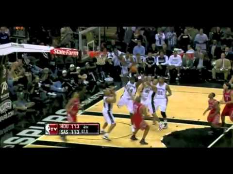 Rockets vs Spurs 2010 NBA Season 11/06/2010