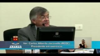 26ª Sessão Ordinária - Câmara Municipal de Araras