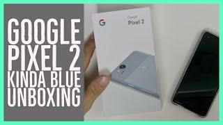 Google Pixel 2 :Kinda Blue Unboxing