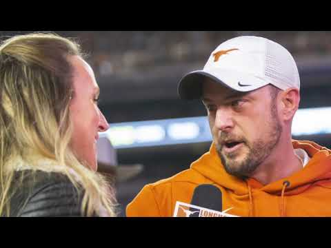 Tom Herman talks about playing UGA in the 2019 Sugar Bowl
