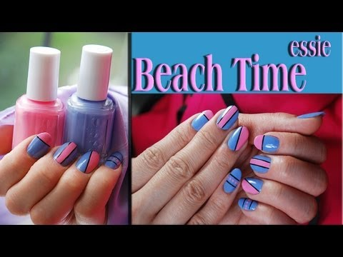 Beach Time Nail Design Tutorial. Nails Of Promise thumbnail