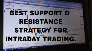 Best Support & Resistance Strategy for Intraday Trading (In hindi)