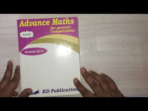 Maths books for ssc cgl 2017 and ssc cgl 2018