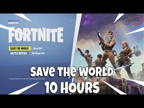 Fortnite Save The World Theme Song 10 Hours