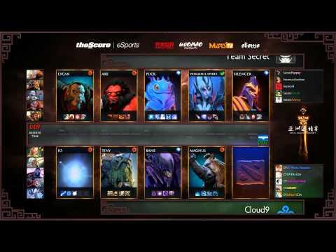 Secret vs C9 - DAC 2015 - LB - SF - G1