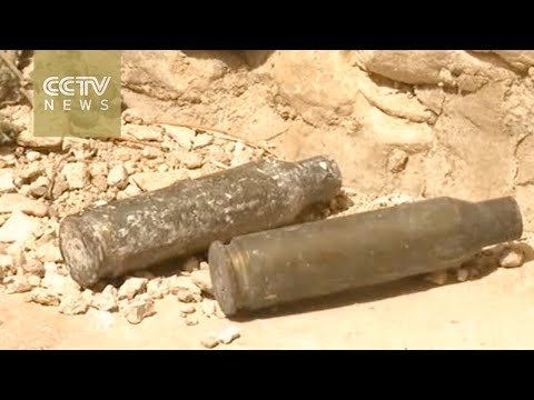 Russian demining team works to clear up war-torn Palmyra