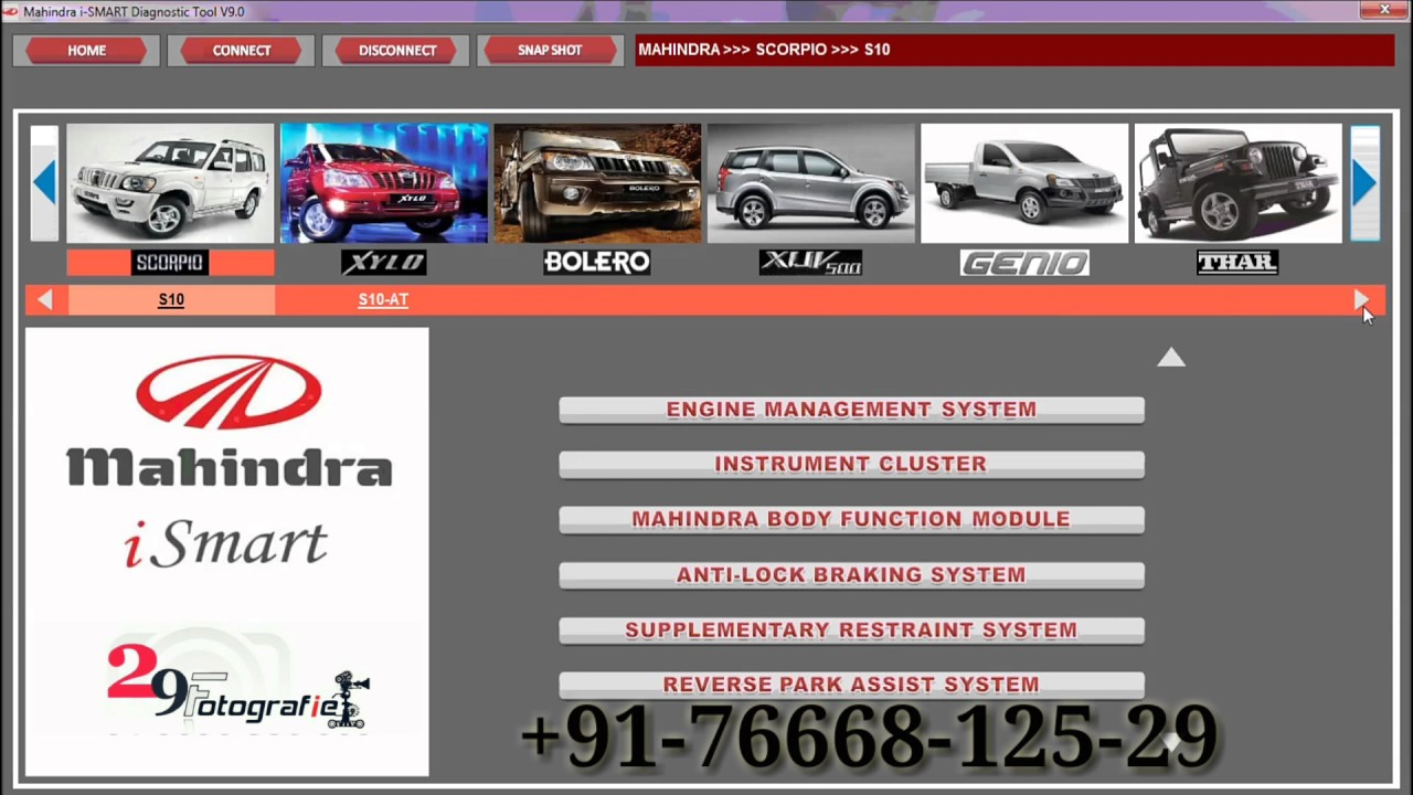 Mahindra Ismart Scaner Audio Visual Technical Manuals First Time In