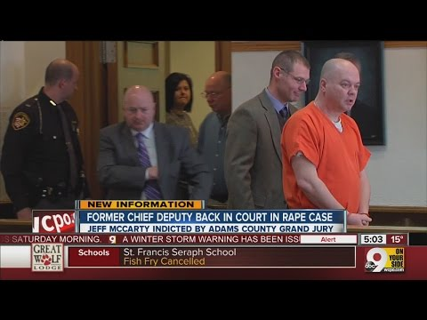 Former Adams County Chief Deputy back in court in rape case