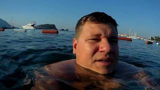 видео Адриатическое море черногория