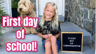 First day of Kindergarten! | Meet the Millers Family Vlogs