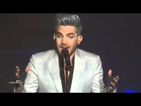 ADAM LAMBERT Adam's Soapbox & Whataya Want From Me - 1st Orpheum LA 4-2-16