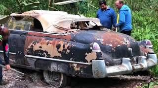 1949 Cadillac 62 Convertible Barn Find